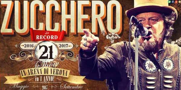 Zucchero concerti Arena di Verona maggio 2017: come arrivare, orari e info utili