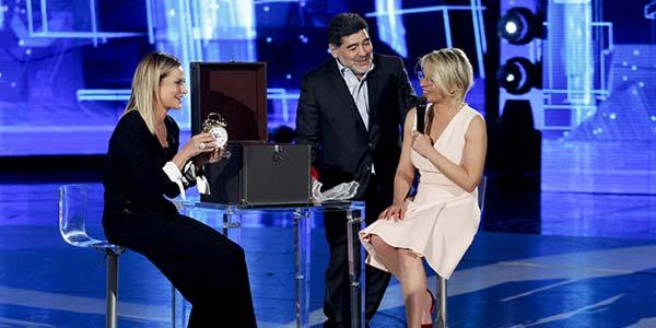 Amici 16 settimo serale: eliminata Shady, ospite Maradona