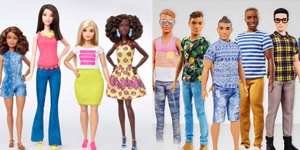 Ken e barbie ecco i nuovi look delle bambole mattel for Bambole barbie