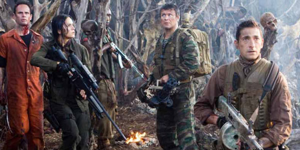 Predators, film staser... Predators With Adrien Brody