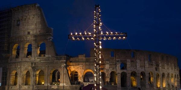 Via Crucis Colosseo 2019 con Papa Francesco: dove vedere la