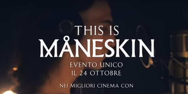 This Is Maneskin film al cinema solo il 24 ottobre: trama e