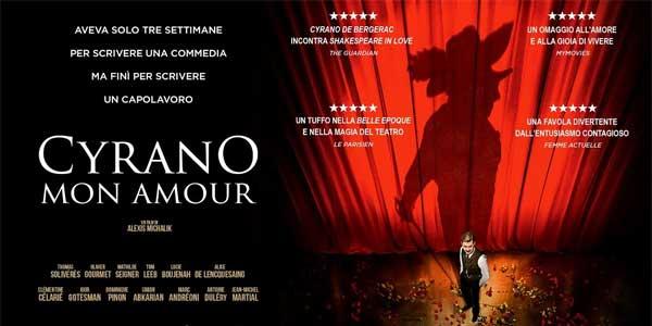 Cyrano Mon Amour film al cinema recensione