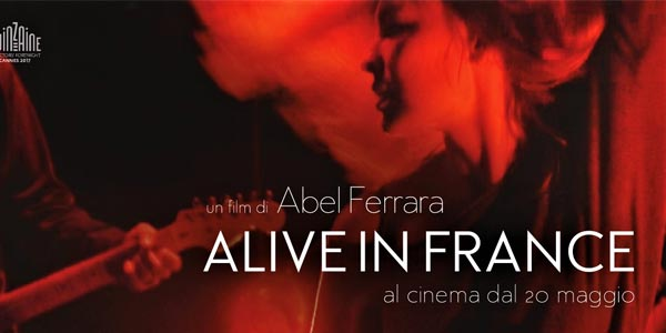 Alive in France recensione film al cinema