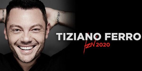 """Risultato immagini per tiziano ferro tour 2020"""""""
