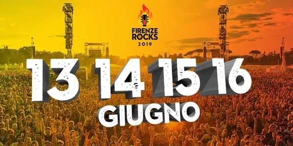 Firenze Rocks 2019 come arrivare |  parcheggi |  orari |  scaletta