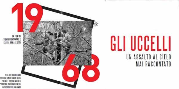 1968 gli Uccelli una storia mai raccontata film al cinema: locandina