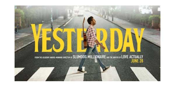 Yesterday film al cinema: il protagonista attraversa le strisce pedonali come nella copertina del disco dei Beatles