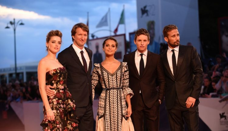 The Danish Girl: red carpet e conferenza del cast a Venezia – foto